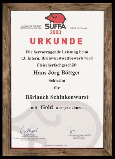 urkunde-suffa-2003-baerlauch-schinkenwurst