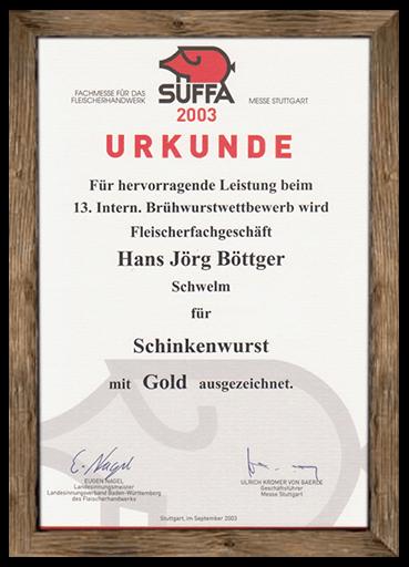 urkunde-suffa-2003-schinkenwurst