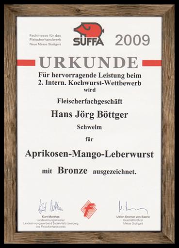 urkunde-suffa-2009-aprikosen-mango-leberwurst
