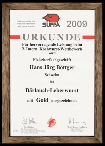 urkunde-suffa-2009-baerlauch-leberwurst