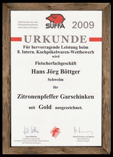 urkunde-suffa-2009-zitronenpfeffer-garschinken